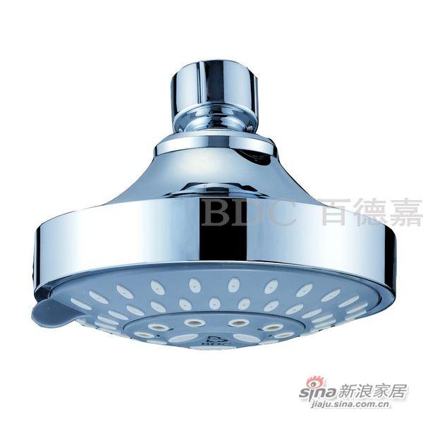百德嘉五金龙头挂件-H712101-LED灯顶喷花洒-0