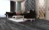金桥地板三层实木复合地板无醛环保木地板锁扣柞木黑宝石
