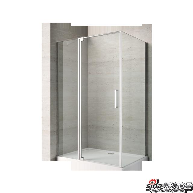 恒洁卫浴淋浴房HLG07F31