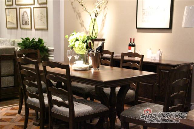 梓乔家具-布鲁斯系列产品-餐桌