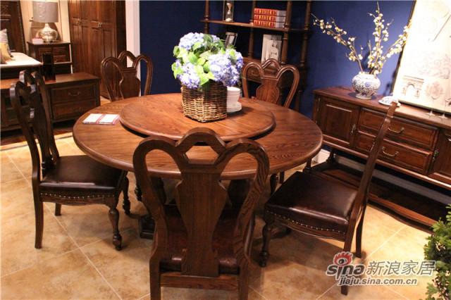 梓乔家具-布鲁斯系列产品-餐桌-1