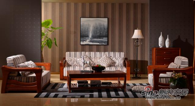 良木雅韵系列实木沙发