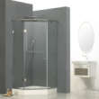 德立钻石形外开门淋浴房