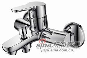 华艺卫浴YH23264C 单把浴缸龙头 -0