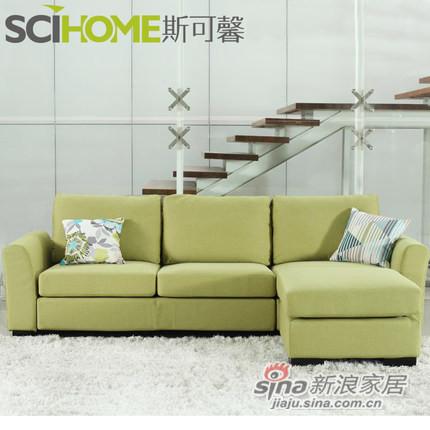 斯可馨 布艺沙发客厅沙发多种组合 -1
