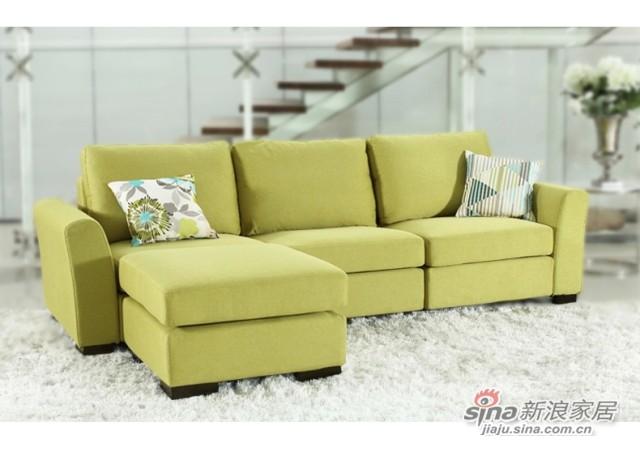 斯可馨 布艺沙发客厅沙发多种组合 -3