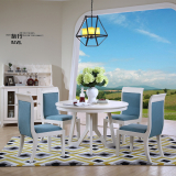新巴克时尚S5061餐桌-S5062餐椅