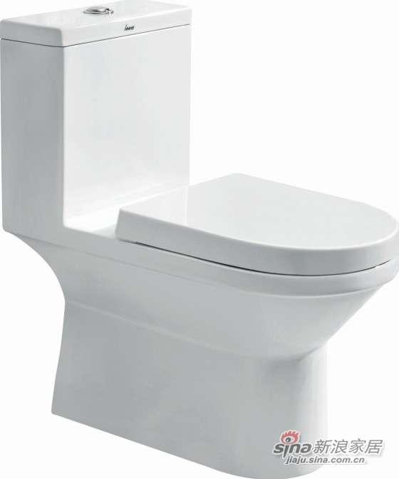 华盛卫浴连体座便器HTZ1002