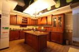 古典奢华欧式风格实木橱柜 进口美国白橡