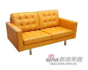 摩登一百TS714 Huston Leather Sofa 2s休斯顿2人位沙发-0