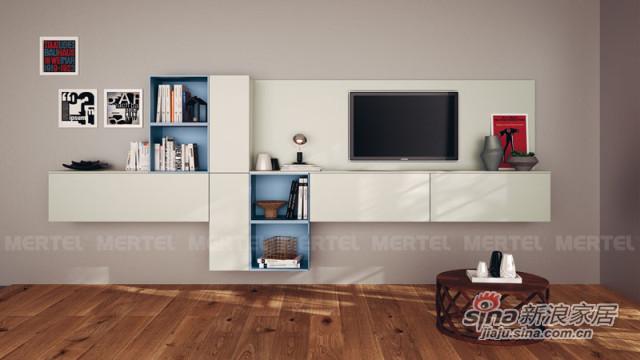 时尚壁挂电视柜 不一样的简约美-0