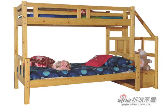 艾森木业名松屋松木系列全实木儿童床-2