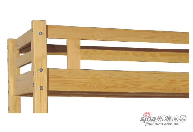 艾森木业名松屋松木系列全实木儿童床-3