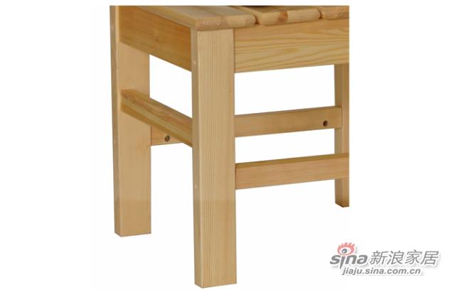 艾森木业名松屋松木系列全实木餐椅-3