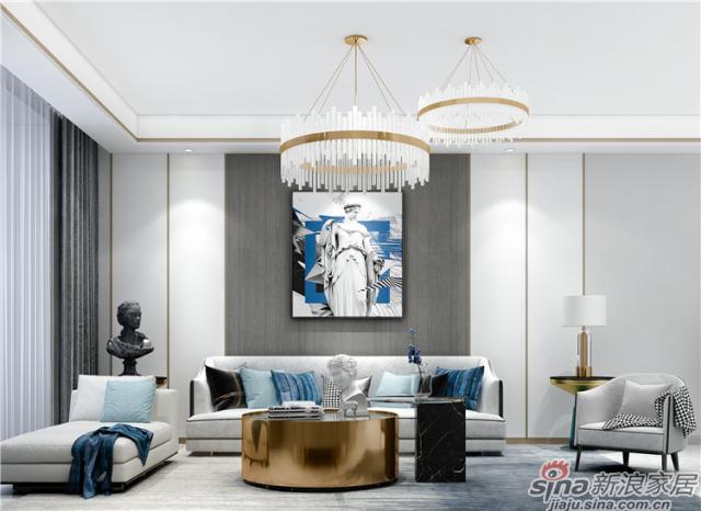 「蓝调·现代轻奢」滋养灵魂的艺术生活空间