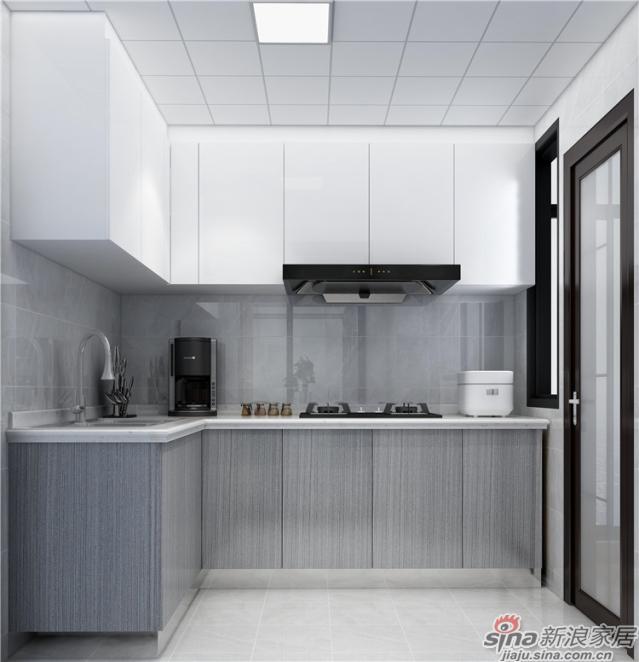 厨房:白色简约的厨房空间优雅中增添了几分地气,生活需要艺术也需要柴米油盐,在这里,你可以系上围裙、撸起袖子,给家人和自己准备一桌可口的物质食粮。