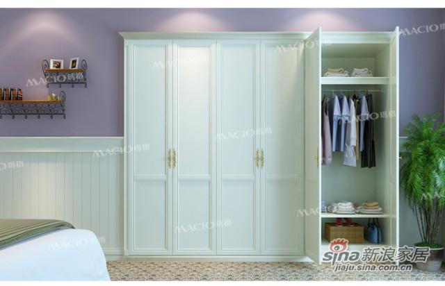 玛格定制家具包覆M型定制衣柜 -2