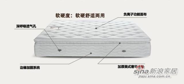 雅兰柏瑞诗富氧负离子床垫-2