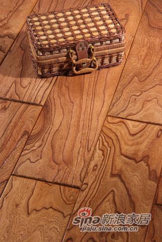 【永吉地板】实木仿古罗浮宫系列——榆木哥伦布殿堂