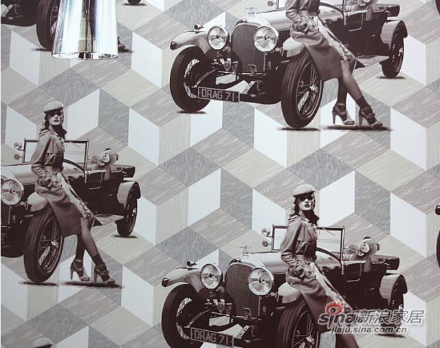 美客壁纸 欧美风格 美女骑车-1