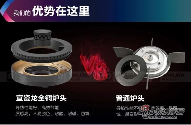 樱花正品不锈钢嵌入式燃气灶全能焰-1