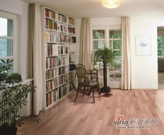 安信栎木仿古多层实木复合地板-0