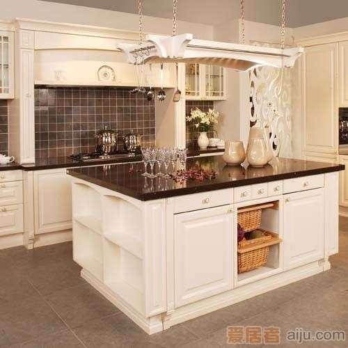 珊嘉橱柜烤漆面板:高山流水B(不含台面)1