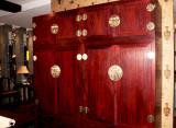 明式素面顶箱柜