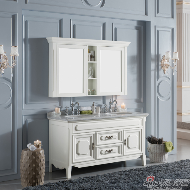 阿洛尼浴室柜-简欧浴室柜-A1157