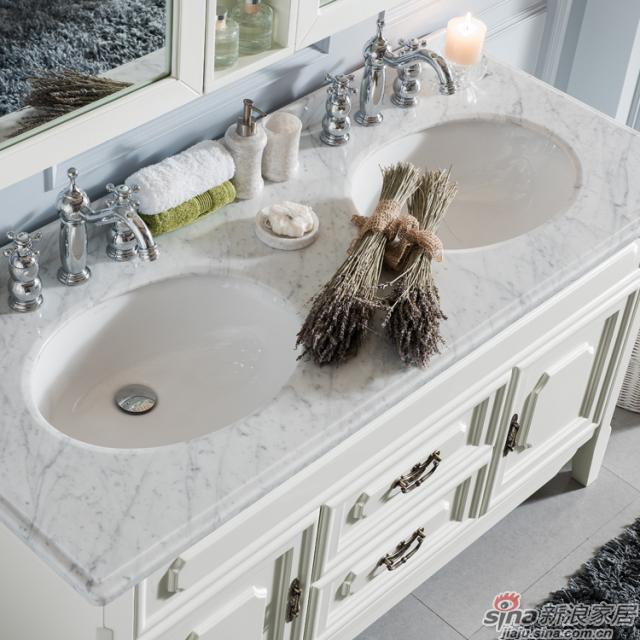 阿洛尼浴室柜-简欧浴室柜-A1157-2