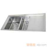 GORLDE优质不锈钢水槽/洗菜池SQ系列SQ11(双方盆)