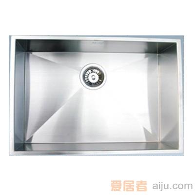 GORLDE优质不锈钢水槽/洗菜池SQ系列SQ05(单方盆 厚度1.0)1