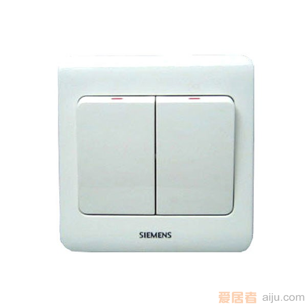 西门子开关-远景系列-5TA0 211-1CC1(两开单控)