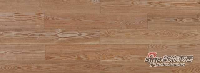大卫地板经典实木-欧洲艺术系列S08LG06白蜡木(本色淋辊)-0