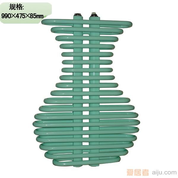 九鼎-艺型散热器鼎艺系列1000花瓶
