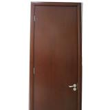 简森木门清油平板造型门