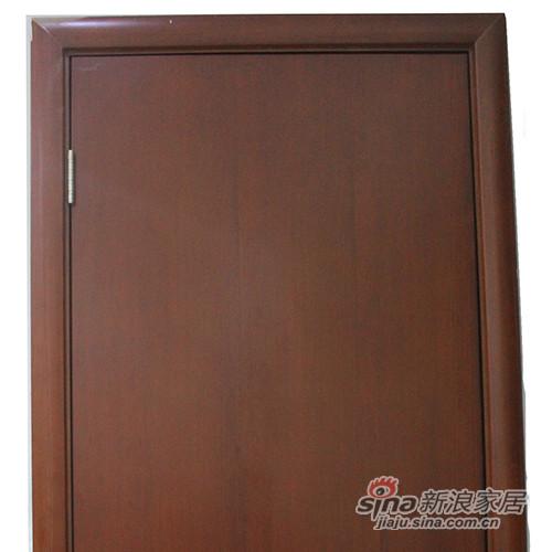 简森木门清油平板造型门-1