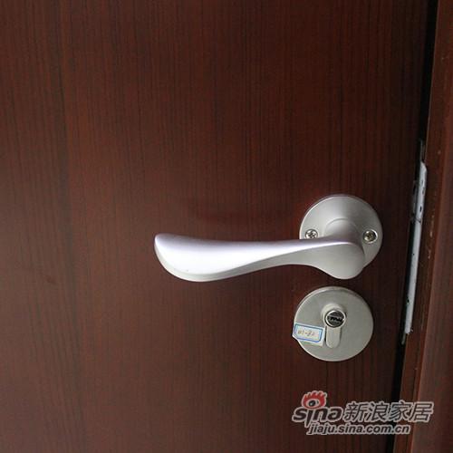 简森木门清油平板造型门-2