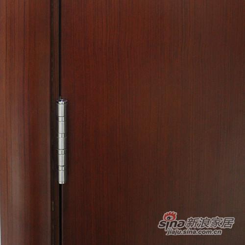 简森木门清油平板造型门-3