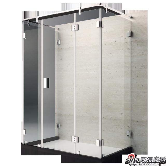 恒洁卫浴淋浴房HLG01U51