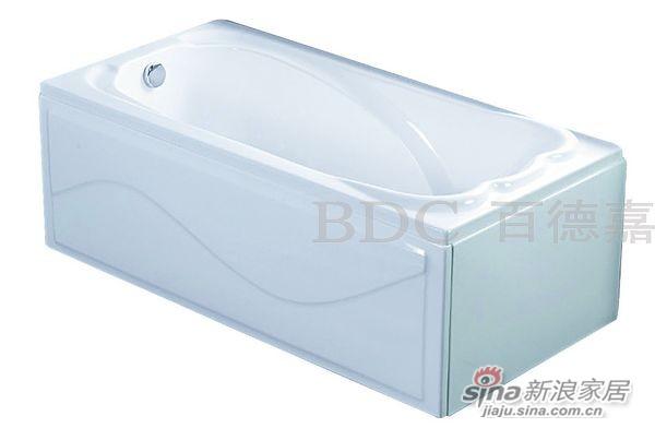 百德嘉休闲卫浴-H853102有裙浴缸-0