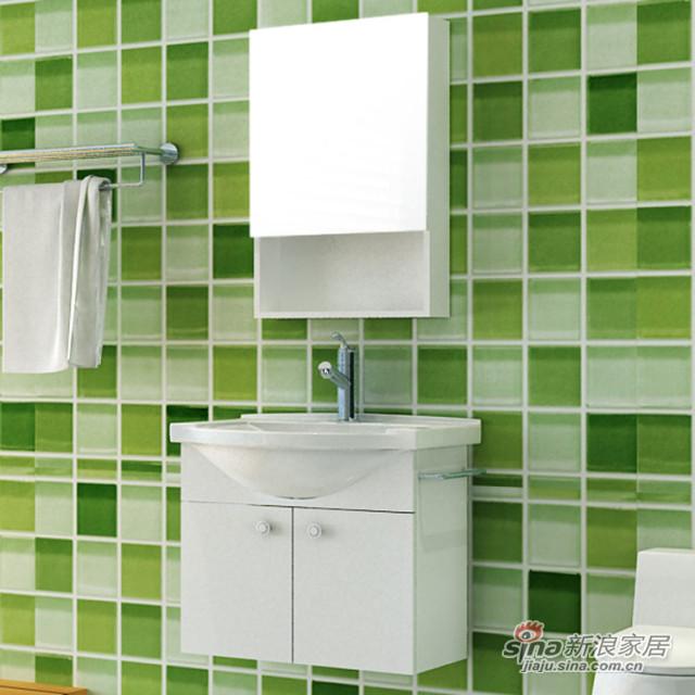 尚高卫浴0.6米实木浴室柜