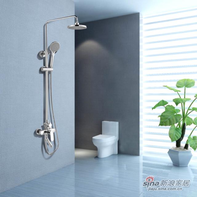 尚高卫浴0.6米实木浴室柜-2