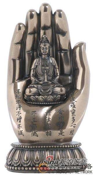 威罗尼-觀音在手中-冷镀铜