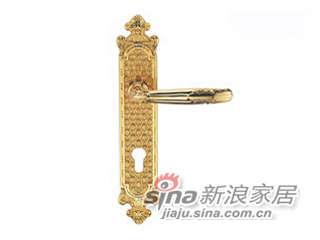 雅洁AS2011-H45112-0245铜锁体+70铜锁胆-0