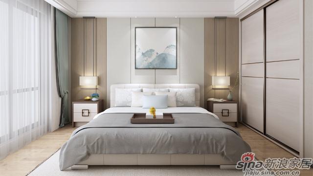 左尚明舍新中式卧室-2