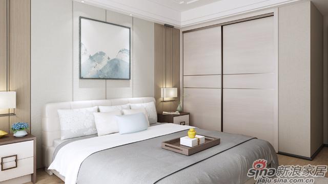 左尚明舍新中式卧室-3