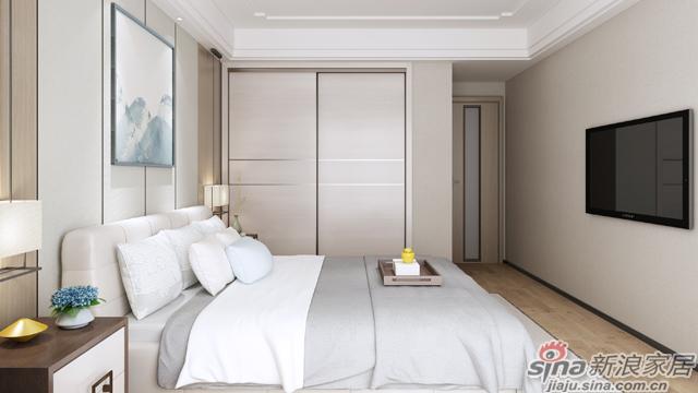 左尚明舍新中式卧室-4