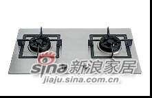 志邦厨柜不锈钢双眼灶具JZ.2-68S
