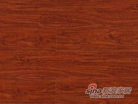 大卫地板中国红-锦绣红系列强化地板DW0052远古胡桃-0
